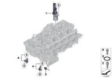 Zylinderkopf - elektr. Anbauteile