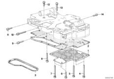ZF 3HP22 Anbauteile Schaltgerät