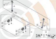 Reparatursätze Stabilisator vorn