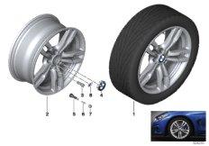 BMW LM Rad M Doppelspeiche 441 - 18