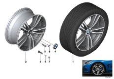 BMW LM Rad M Doppelspeiche 442 - 19