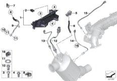 Dieselpartikelfiltersensorik / Anbauteile