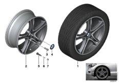 BMW LM Rad Doppelspeiche 361-20''