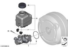 Hauptbremszylinder / Ausgleichbehälter