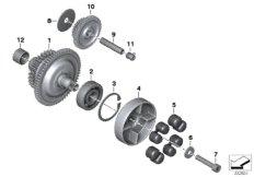 Generator-Starterfreilauf