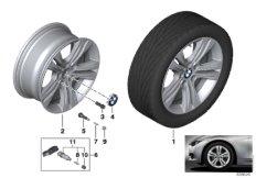 BMW LM Rad Doppelspeiche 392 - 17