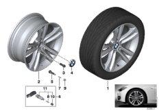 BMW LM Rad Doppelspeiche 397 - 18