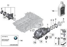 Vorderachsgetriebe Einzelteile Allrad