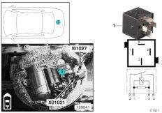 Relais Kompressorpumpe I01027