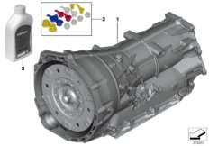 Automatikgetriebe GA8HP76X - Allrad
