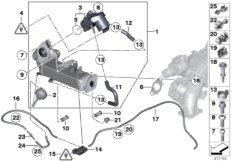 Abgasschadstoff-Reduzierung-Kühlung