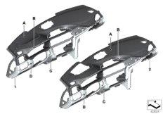 Individual Instrumententafel Leder