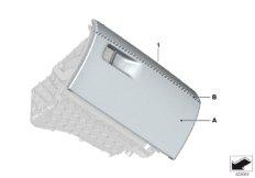 Individual Handschuhkasten Leder