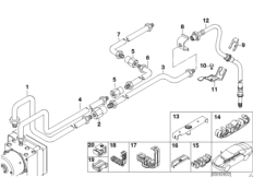 Bremsleitung hinten DSC