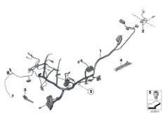 Hauptkabelbaum  /  Kabelbaum Heckteil
