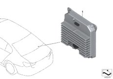 Steuergerät Power Control Unit PCU