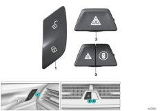 Schalter Warnblink  /  Zentralverriegelung