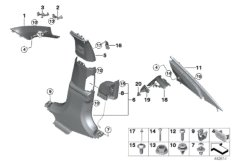 Verkleidung A-  /  B-  /  C-Säule
