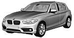 BMW 1er F20 LCI 5-Türer