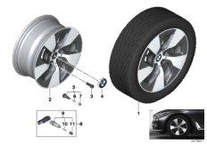 BMW LM Rad Turbinenstyling 645 - 17