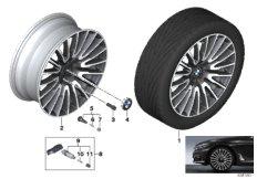 BMW LM Rad V-Speiche 629 - 21