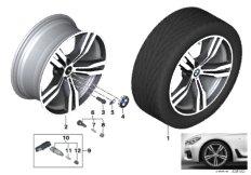 BMW LM Rad Doppelspeiche 648M - 20
