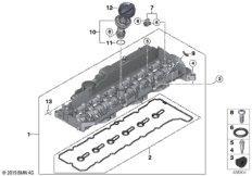 Zylinderkopfhaube / Anbauteile
