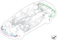Kabelsätze Stoßfänger /  Frontend