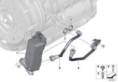 Getriebeölkühler / Ölkühlerleitung