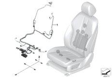 Kabelsatz Sitz vorn