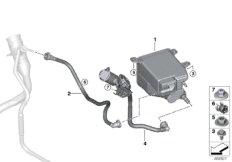Aktivkohlefilter / Kraftstoffentlüftung