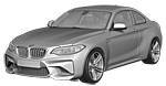 BMW 2er F87 M2 Coupé