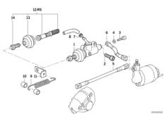 Hauptbremszylinder / ABS hinten