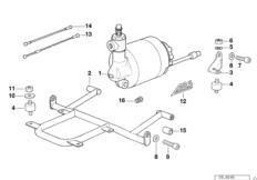 Druckmodulator ABS I