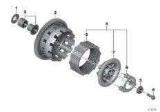 Kupplung - Einzelteile