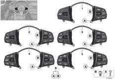 Schalter Lenkrad Multifunktion Sport