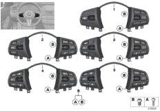 Schalter Lenkrad Multifunktion Basis
