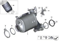 Katalysator / Dieselpartikelfilter