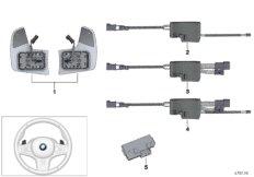 Lenkradelektronik und Schaltwippen