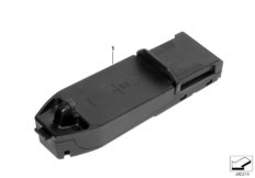 Wireless-Charging Ablage