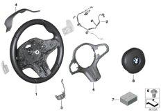 M Sportlenkrad Airbag Multif. / Paddles