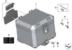 Aluminiumtopcase