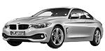 BMW 4er F32 LCI Coupé