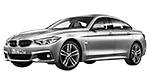 BMW 4er F36 Gran Coupé LCI Gran Coupé