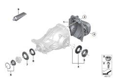 Hinterachsgetriebe Einzelteile - 205