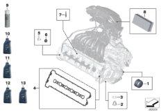 Service Motoröl  /  Inspektion