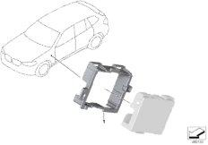 Halter Ethernet-Switchbox