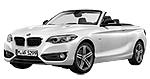 BMW 2er F23 LCI Cabrio