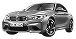 BMW 2er F87 M2 LCI Coupé