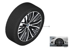BMW LM Rad V-Speiche 687 - 21